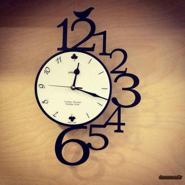 ساعت دیواری مدرن رافائل 9797