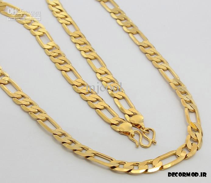 گردنبند مردانه طلا 55