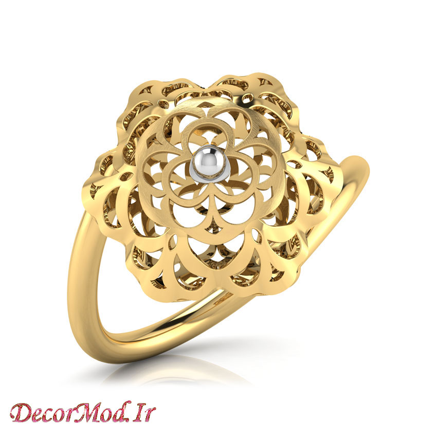 انگشتر زنانه طلا 40