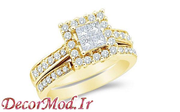 انگشتر زنانه طلا 14
