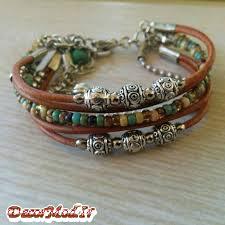 دستبند چرم دخترانه 48