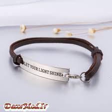 دستبند چرم دخترانه 23