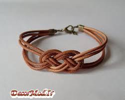 دستبند چرم دخترانه 18