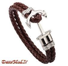 دستبند چرم دخترانه 17