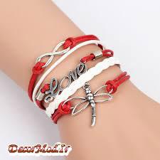 دستبند چرم دخترانه 11