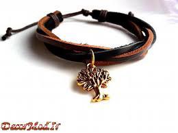 دستبند چرم دخترانه 7