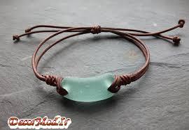 دستبند چرم دخترانه 40