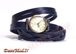 دستبند چرم دخترانه 3
