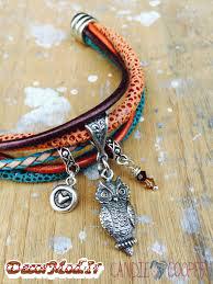 دستبند چرم دخترانه 2