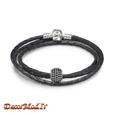دستبند چرم دخترانه 36