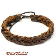 دستبند چرم دخترانه 34