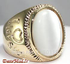 انگشتر عقیق مردانه 15