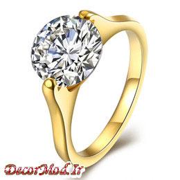 انگشتر زنانه طلا 34