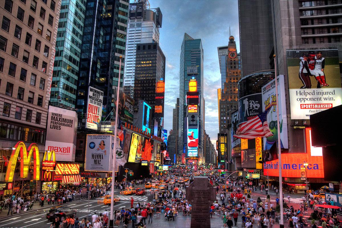 میدان تایمز در نیویورک 1