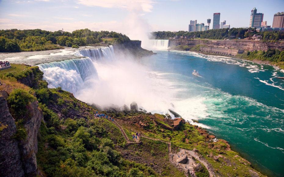 آبشار نیاگارا در نیویورک و اونتاریو 5