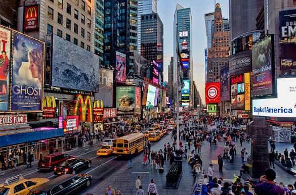 میدان تایمز در نیویورک 3