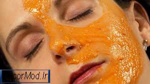 ماسک پوست پرتقال 3