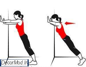 حرکات لاغری بازو 18