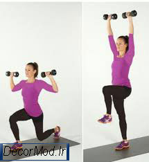 حرکات لاغری بازو 30