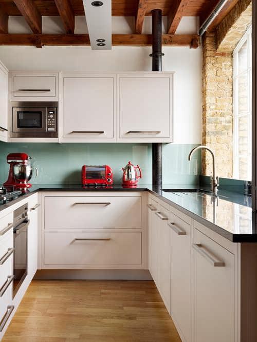 دکوراسیون آشپزخانه های کوچک4
