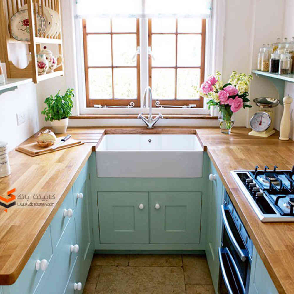 دکوراسیون آشپزخانه های کوچک5