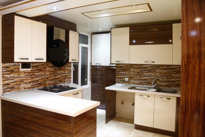 دکوراسیون آشپزخانه های کوچک 3