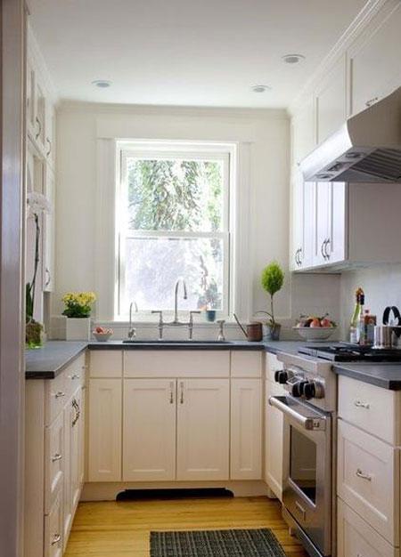 دکوراسیون آشپزخانه های کوچک 2