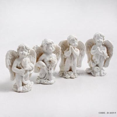 جدیدترین مدل مجسمه فرشته گل به دست