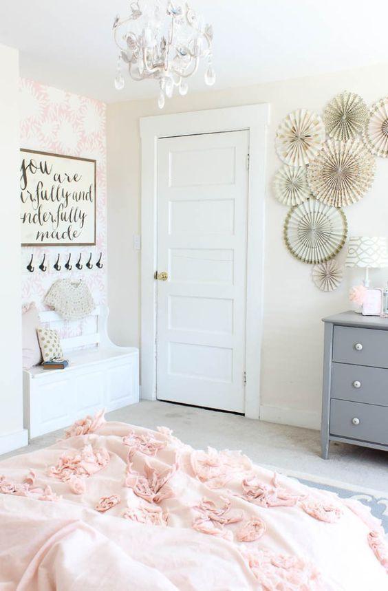 اتاق خواب گل گلی