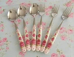 لوازم آشپزخانه گل گلی