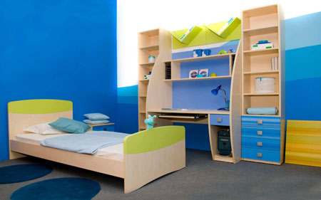 دکوراسیون اتاق کودک و نوجوان
