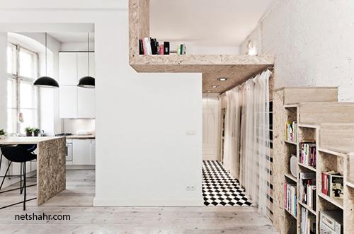 استفاده از فضاهای کوچک