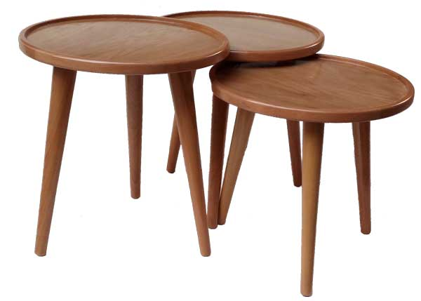 میز عسلی گرد