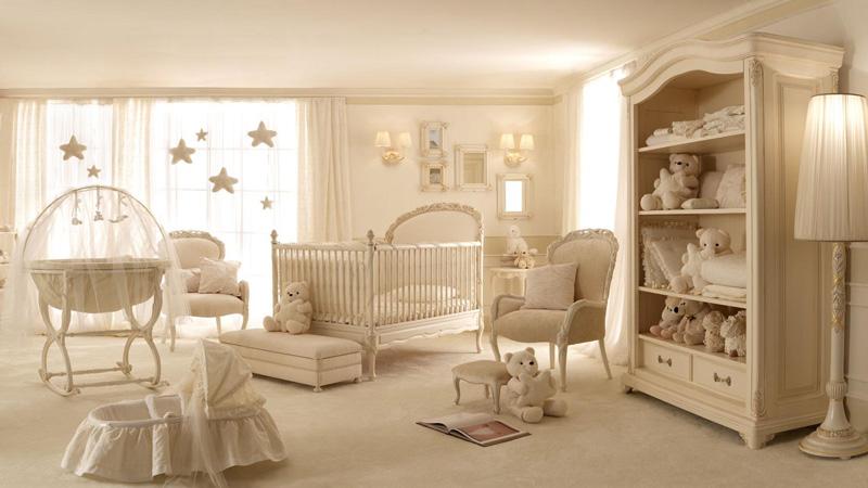 طراحی اتاق خواب سفید