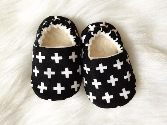 کفش نوزاد مشکی