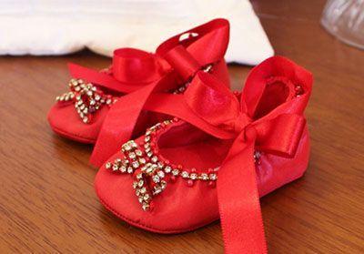 کفش مهمانی نوزاد