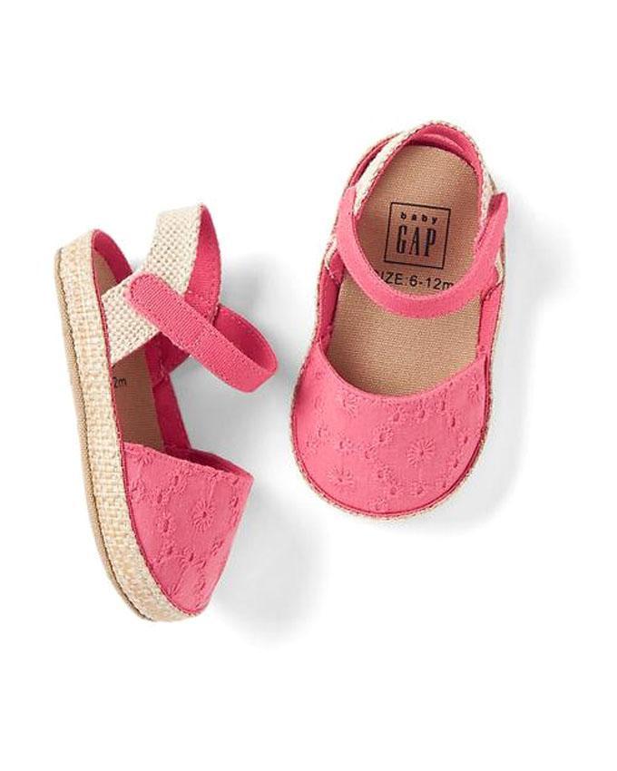 کفش نوزاد صورتی