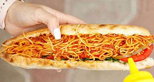 ساندویچ ماکارونی