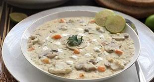 سوپ جو سفید