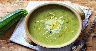 سوپ کدو سبز