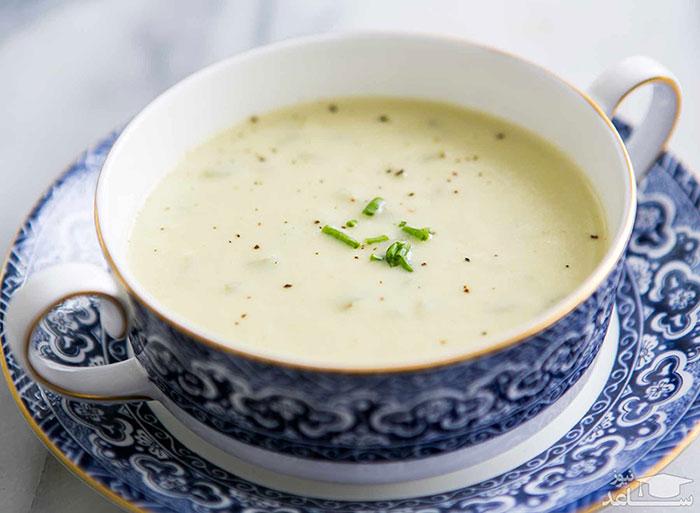 سوپ ماست